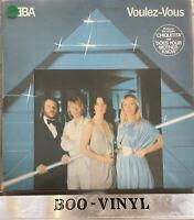 """ABBA """"Voulez-Vous"""" vinyl LP Epic EPC 86086 UK 1979 Inner EX / EX CON"""