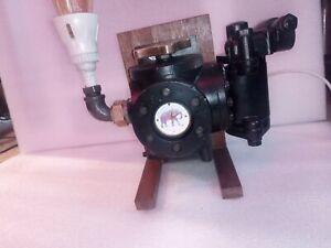 Reclaimed Industrial Art Lamp