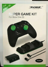 Dobe Xbox One S System Wireless Controller Super Game Kit- Headphone Battery etc
