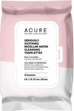 Seriously Soothing Micellar Water Towelettes, 30 towelettes 1 pack