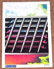 1986 FIAT RANGE Brochure inc X1/9, Strada Abarth, Uno Turbo, Panda 4x4, 126