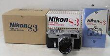 Nikon S3 2000 Limited Edition 35mm Rangefinder Film Camera Body Only