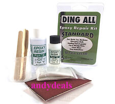 Ding All Epoxy surfboard repair kit with instructions for longboard shortboard*