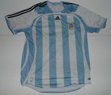 ARGENTINA 2008-09 Calcio Casa Maglietta. World CUP XL da uomo # messi 18