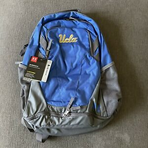 UCLA Under Armour Storm Backpack Water Proof Repellent Back Pack NCAA Gym NEW