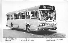 Pamlin photo postcard M2515 London Country Bus SNB449 Watford South Oxhey 1983