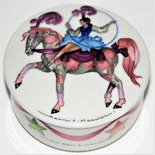 Villeroy & Boch Le Cirque Covered Trinket Jewelry Pin Candy Dish