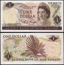 NEW ZEALAND 1 DOLLAR  KNIGHT (P163c) QEII UNC