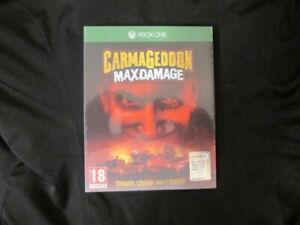 XBOX ONE : CARMAGEDDON : MAX DAMAGE - Nuovo ! Comp. Xbox Series X ! CONS 24/48H