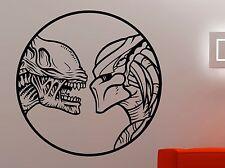 Alien vs Predator Wall Decal Vinyl Sticker Movie Art Playroom Bedroom Decor 2avp