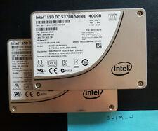 """2 x 400GB INTEL S3700 Dell SSDSC2BA400G3 2.5"""" SATA 6G SSD **CHIA**"""