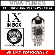 Brand New In Box Gain Tested Electro-Harmonix 12AY7 / 6072A Vacuum Tube