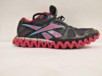 Womens size 5.5 Reebok Zig Nano Athletic Sneaker Shoes Pink/Black