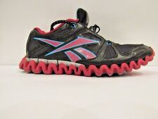 Womens size 5.5 Reebok Zig Nano Athletic Sneaker Shoes Pink/Black