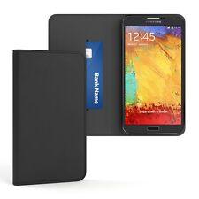 Tasche für Samsung Galaxy Note 2 Cover Handy Schutz Hülle Case Etui Schwarz