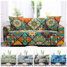 Bohemian Stretch Slipcovers Sofa Cover Living Room Couch L shape Armchair Cover