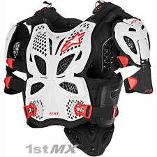 Alpinestars A10 Motocross Race Full Body Armour White Red Adults XLarge XXLarge