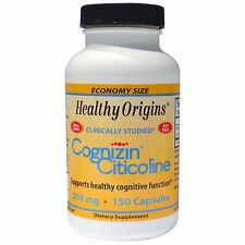Healthy Origins, Cognizin Citicoline, 250 mg, 150 Capsules NEW