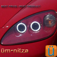 2005-13 Corvette C6 Headlight Umnitza Orion V2 6000K LED Angel Demon Eyes Kit