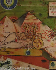 "Uwe Bremer: ""telefaktoren su Cyrus"", grafica, acquaforte, 23/100, firmato, 1973"