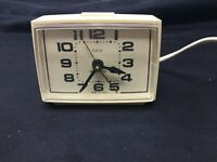 Vintage Dialite Westclox Ballet Electric Alarm Clock  Made In U.S.A