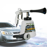 Car High Pressure Air Pulse Cleaning Gun Interior Exterior Surface Brush Cleaner