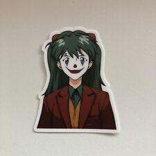 Asuka Langley Neon Genesis Evangelion Anime x Joker Vinyl Sticker