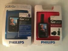 Phillips MP3 Player 2GB SA3020 GO GEAR NEW SEALED With Arm Band NEW bundle!
