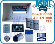 Bosch Alarm 6000 System 3 x Pet Friendly TriTech PIR Free Programming
