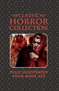 Classic Horror Collection Fully Illustrated Four Book Set Hardcover – Abridged