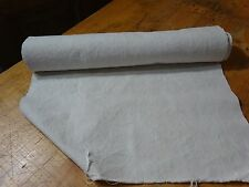 A Homespun Linen Hemp/Flax Yardage 7.5 Yards x 20'' Plain  # 8818