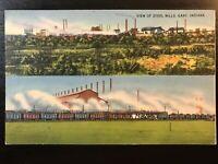 Vintage Postcard>1930-1945>View of Steel Mills>Gary>Indiana
