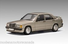 Mercedes-Benz 190 E 2.3 16V RAUCHSIBLER SILVER 1/18 by AUTOart #76121 NEW IN BOX