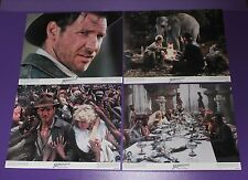 INDIANA JONES AND THE TEMPLE OF DOOM LOBBY CARD SET HARRISON FORD