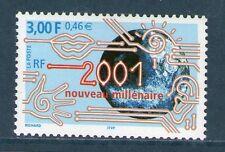 TIMBRE 3357 NEUF XX LUXE - 2001 NOUVEAU MILLENAIRE - LA TERRE - L'EAU