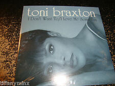 TONI BRAXTON cd single I DONT WANT TO/I LOVE ME SOME HIM free US shipping
