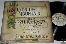 RICHARD ROYAL BAKER IV kid on the mountain LP Kicking Mule Rec UK 1980 Rare FOLK