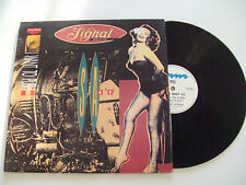 "Signal Aout 42 – I Want To Push -Disco 12"" 45 Giri Vinile BELGIO 1990 Techno"