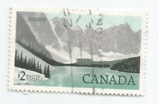 CANADA;  1985 Banff National Park   $2 used s*