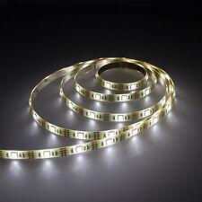 2m 5050 SMD LED Stripe Lichter Leiste Streifen Band mit USB Kabel Anschluss weiß
