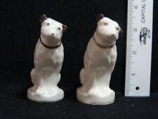 VINTAGE RCA VICTOR NIPPER DOGS SALT & PEPPER SHAKERS - RADIO CORP OF AMERICA