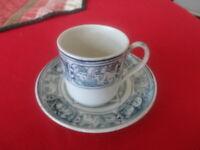 "Vinatge Wedgwood Cup & Saucer ""Eaten Bread is Forgotten"""