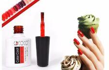 UV Gel Smalto semipermanente: Rosso, TopCoat Lucido, TopCoat Opaco - Nail Art