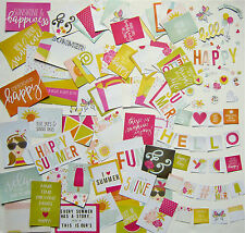 Simple Stories  [Sunshine & Happiness] Snap Pack  (98 Cards & Die Cuts) Save 40%