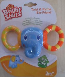 Bright starts Rassel Twist & Rattle Ele-Friend neu OVP