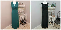 Bravissimo By Pepperberry Twist Maxi Dress In Green Or Black (102)