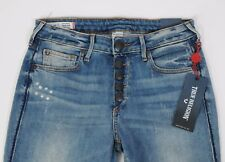 NEW True Religion Jeans JENNIE Curvy Super Skinny size 28 Expsd Button Fly
