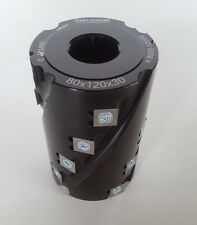 HW HM WPL spiralfügefräser 80 x 120 x 30mm Z18 de Edessö Sistema flury NUEVO