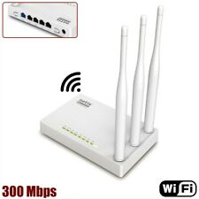 300Mbps 802.11 Wireless N WiFi Router Repeater with 3x 5dBi High Gain Antennas