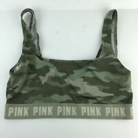 Victoria's Secret PINK Ultimate Unlined Camo Sport Bra Medium AAA17
